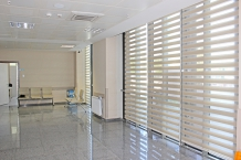 Göztepe Toplum Sağlığı Merkezi Zebra Perde Uygulaması